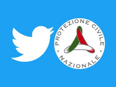 Twitter Protezione Civile